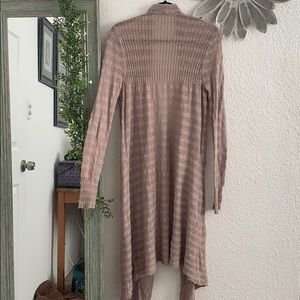 Free People mauve duster
